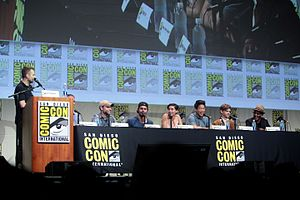 Maze Runner: The Scorch Trials - The cast and crew of Maze Runner: The Scorch Trials at the 2015 San Diego Comic-Con.