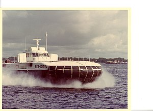 Surface effect ship - Image: SES100B 389