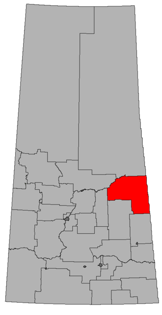 Carrot River Valley (electoral district) - Image: SK 2016 Carrot River Valley