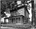 SOUTH FRONT AND EAST SIDE - Swain-Vincent House, 824 Third Avenue, South, Fort Dodge, Webster County, IA HABS IOWA,94-FTDO,3-1.tif