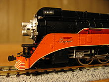 Close Up Of N Gauge Southern Pacific GS 4 4432 By Con Cor