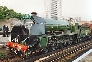 LSWR S15 class - Preserved No. 828