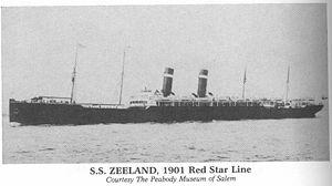 SS Zeeland (1900) - Image: SS Zeeland