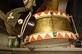 SS visor cap, skull emblem (Totenkopf), Hitler-Jugend drum. Lofoten Krigsminnemuseum (WW2 memorial Museum) Svolvær, Norway 2019-05-08 DSC00285.jpg