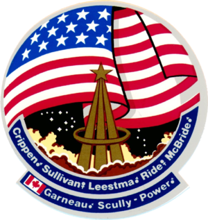 Marc Garneau - Image: STS 41 G patch