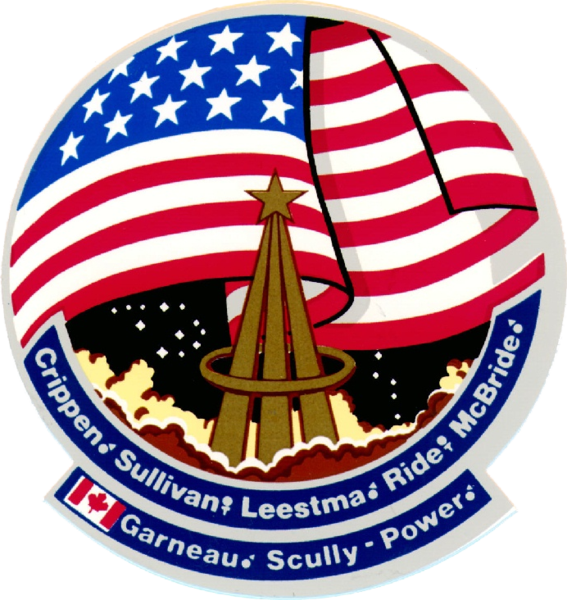 Ficheiro:STS-41-G patch.png