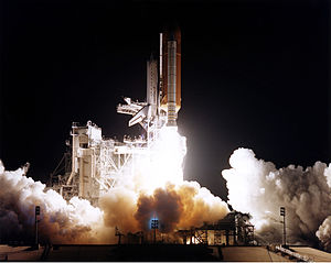 STS-81 - Atlantis launches on STS-81