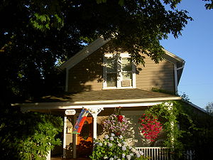 West Linn, Oregon - Historic Gothic revival house, Willamette District