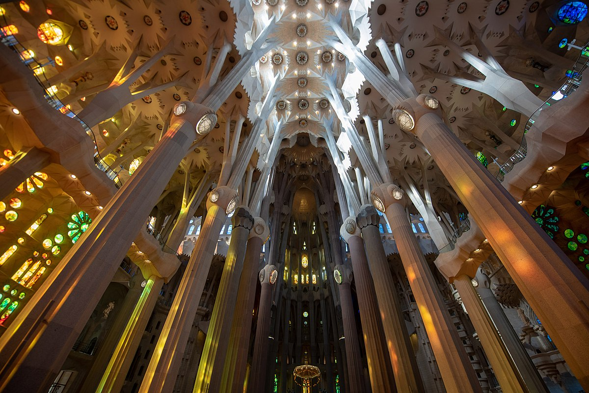 Sagrada Família, Columns.jpg