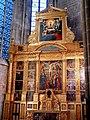 Saint-Maximin-la-Sainte-Baume - Basilique Sainte-Marie-Madeleine - Absidiole gauche - Rétable de la Passion par François Ronzen en 1520.JPG