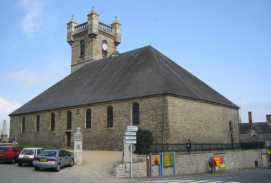 Saint-Pierre-Église (Val de Saire, Cotentin, France, near Cherbourg)