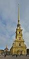 Saint Peter and Paul Cathedral in Saint Petersburg main facade.jpg