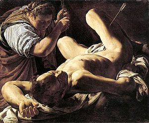 Musée des beaux-arts de Marseille - Image: Saint Sebastiano by Marco Antonio Bassetti