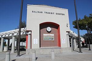 Monterey–Salinas Transit - Salinas Transit Center - 2012