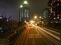 Salisbury Road at night.jpg