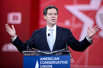 Sam Brownback - Sam Brownback speaking at the 2015 Conservative Political Action Conference (CPAC) in National Harbor, Maryland on February 27, 2015