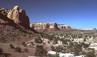 ridge in Utah, United States of America