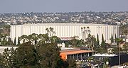 During the Rockets' years in San Diego, they played in the San Diego Sports Arena.