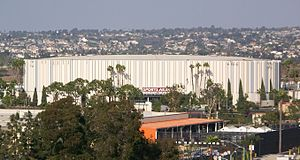 Midway, San Diego - Valley View Casino Center in November 2007