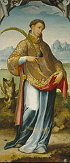 Saint Stephen / The Imposition of the Chasuble on Saint Ildephonsus