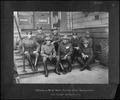 San Francisco Earthquake of 1906, (United States Army) officers on relief work, Hamilton School Headquarters. Colonel... - NARA - 524393.tif