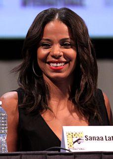 Sanaa Lathan American actress