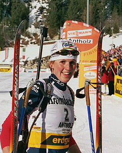 Sandrine Bailly in Antholz (2006)