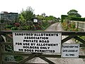 Sandybed Allotments, Lightfoots Road, Scarborough - geograph.org.uk - 1525076.jpg