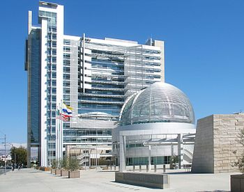 The new City Hall of San Jose, California. The...