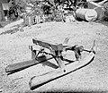 Sanke- prva preima, ko iz gozda vozijo hlode, Podgora 1962.jpg