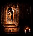 Santi Bartolomeo e Gaetano, interior, Saint Joseph statue (Bologna).jpg