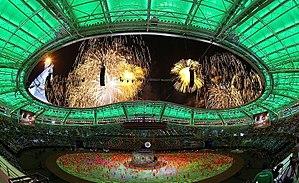 Saparmurat Turkmenbashi Olympic Stadium - Image: Saparmurat Turkmenbashi Olympic Stadium