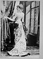 Sarah Bernhardt, 1844-1923, full-length portrait, standing, left profile LCCN2005691706.jpg