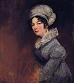 Sarah Spencer (1787-1870), wife of William, 3rd Baron Lyttelton by John Jackson (1778-1831).jpg