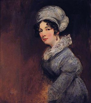 William Lyttelton, 3rd Baron Lyttelton - A 19th-century portrait of Lady Sarah Spencer, Lyttelton's wife, by John Jackson