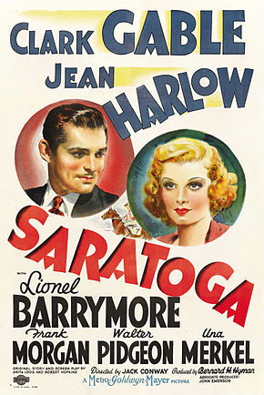 Description de l'image Saratoga poster.jpg.