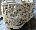 Sarcofago con figura distesa, forse arianna, tra amorini vendemmianti, II-III sec, da auletta, 144995, 01.JPG