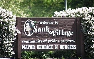 Sauk Village, Illinois - Image: Sauk Village, Illinois