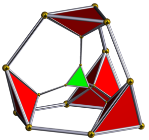 Truncated 5-cell - Image: Schlegel half solid truncated pentachoron