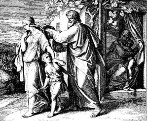 Schnorr von Carolsfeld Bibel in Bildern 1860 027