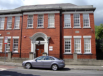 History of the Jews in Ireland - The former Jewish school in Bloomfield Avenue, Portobello, Dublin.