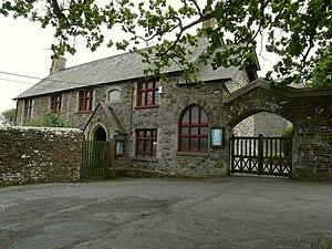 School room and teacher's residence, Abbo...