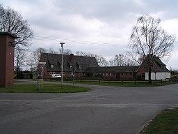 Die ehemalige Schule in Dickel