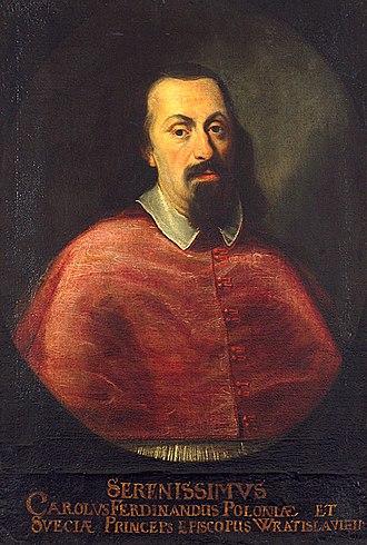 Karol Ferdynand Vasa - Portrait by Daniel Schultz