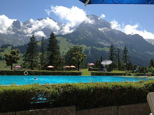 Schwimmbad Adelboden