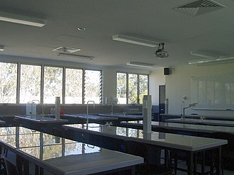 St Peters Lutheran College - Science lab
