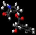 Scopolamine molecule ball.png