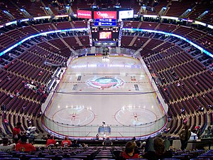 National Capital Region (Canada) - Canadian Tire Centre in Kanata in the western part of the City of Ottawa (previously Scotiabank Place)