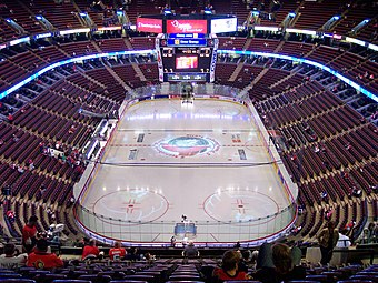 Scotiabank Place before game April 29 2006.jpg