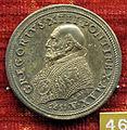 Scuola romana, medaglia di gregorio XIII, 1577, argento.JPG
